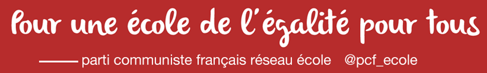 Réseau école du Parti communiste français