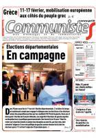 Journal CommunisteS n° 583 - 11 février 2015
