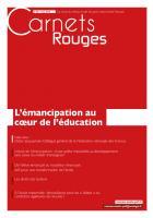Carnets Rouges n°3, mai 2015