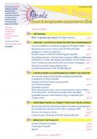 La lettre du réseau n°52 - décembre 2011