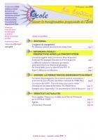 La lettre du réseau septembre-octobre 2012