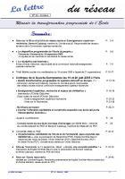 La lettre du réseau n°36, octobre 2008