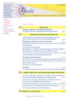 La lettre du réseau n°40 - octobre 2010
