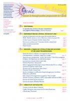 La lettre du réseau n°60 - mars 2013