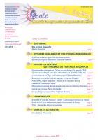 La lettre du réseau n°62 - octobre 2013