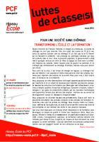Luttes de classe(s) n°6 : mars 2016 - loi Travail
