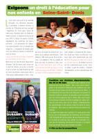Exigeons un droit à l'éducation pour nos enfants en Seine-Saint-Denis : tract départementales