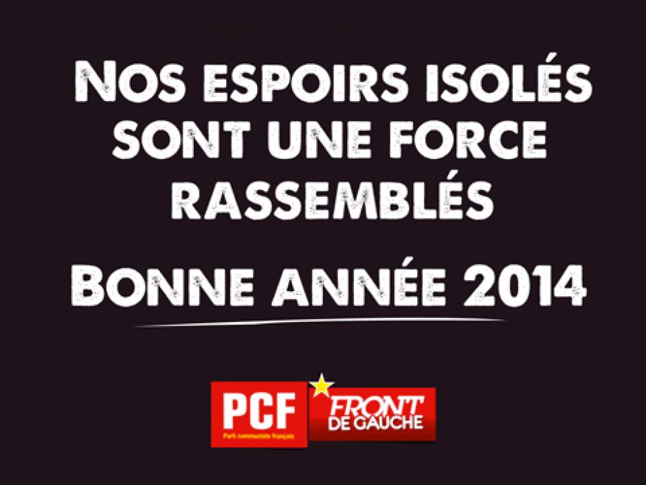 Marine Roussillon et toute l'équipe du réseau école vous souhaite une excellente année 2014.