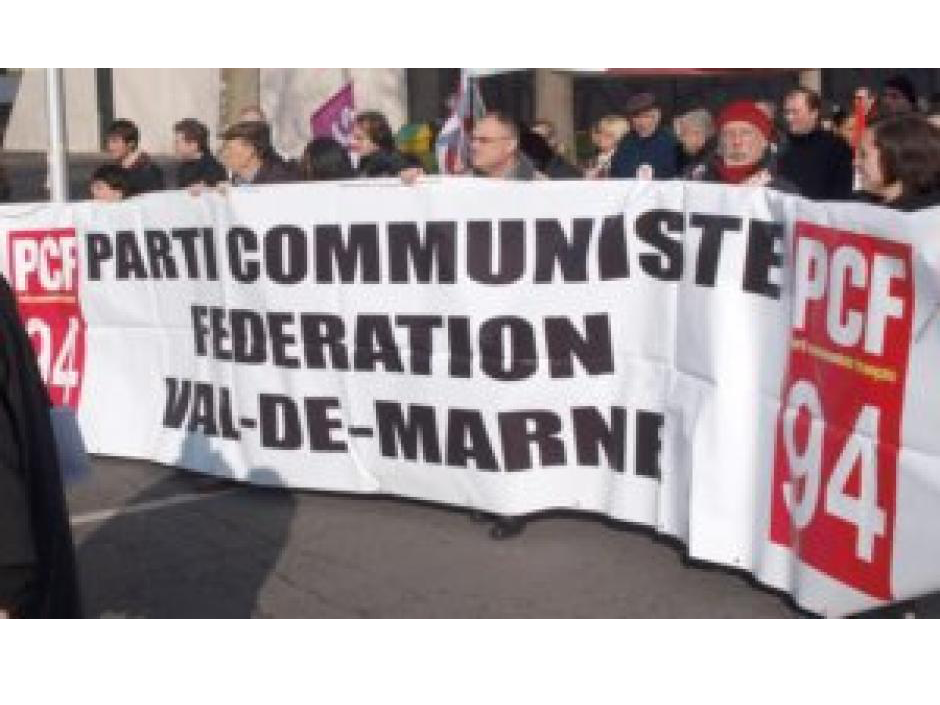 Courrier de 12 maires communistes et républicains du Val-de-Marne à Vincent Peillon